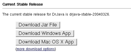 download dr java